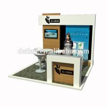 Detian Angebot benutzerdefinierte 10x10 Standfläche Messestand Design Messestand Ideen