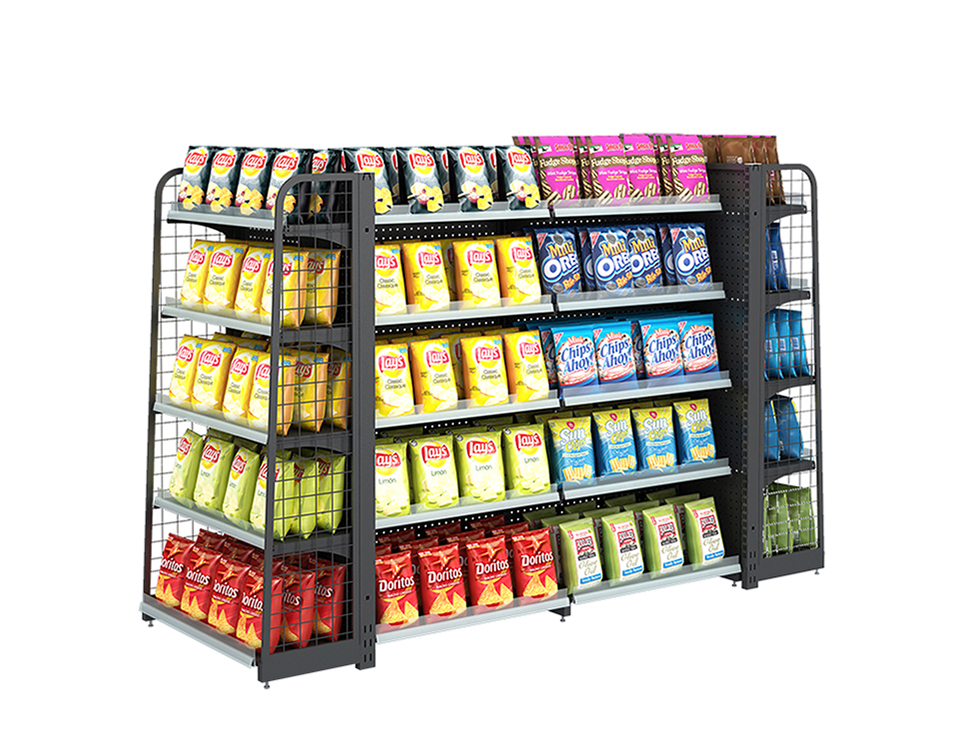 Commercial Shelving Systems For Supermarket