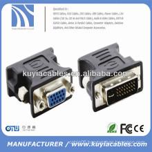 Monitor adapter 24+5 Pin Male To 15 Pin VGA Female Adapter Convertor
