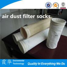 Processo de moagem não tecido tecido filtro de poeira de ar meias