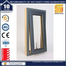 Fenêtre vitrée en aluminium avec certificat As2047