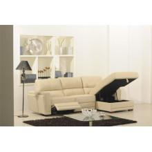 Living Room Genuine Leather Sofa (875)