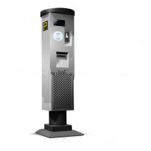 Solar Parkuhr / Parkin Zahlungsmaschine