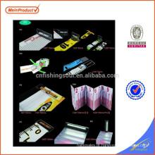 FSFR002 weihai pesca régua de plástico régua digital dobrável personalizado
