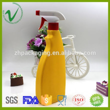 500ml high quality HDPE Detergent Liquid Plastic Bottle with spray
