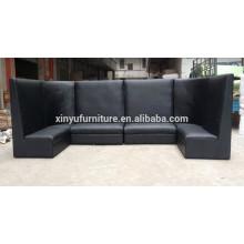 Modern black series eventing high back sofa XYN937