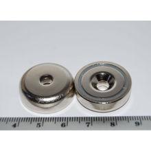 Countersunk Pot Magnets (POT-A)