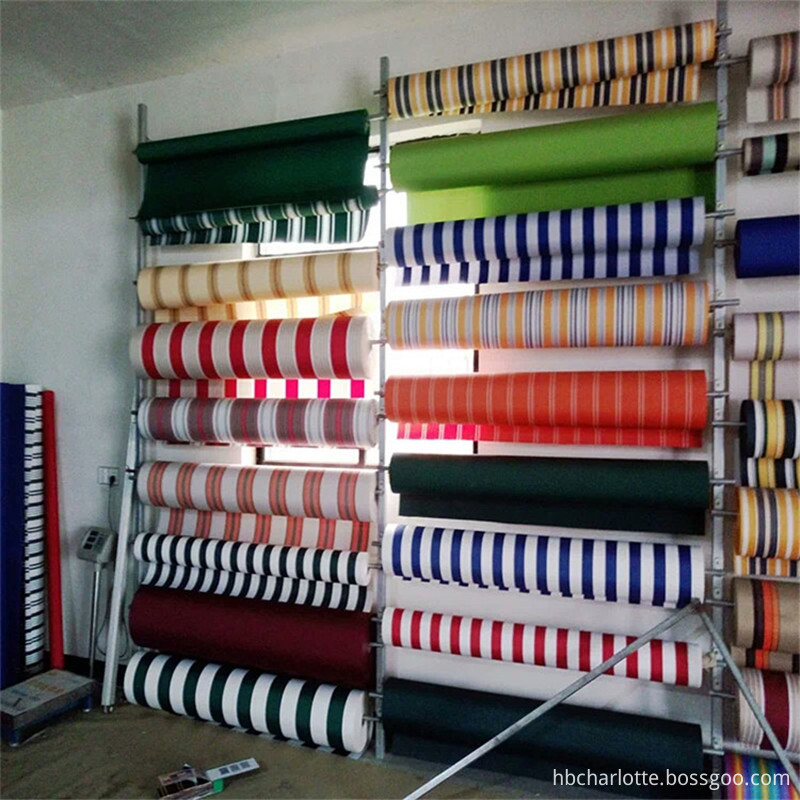 Super-resistant-color-stripes-tarpaulin-awning-canopy-waterproof-fabric-600D-thickening-dyed-oxford-fabrics-300gsm