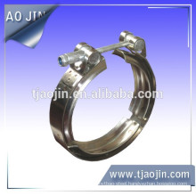 V band grooved hose clamps