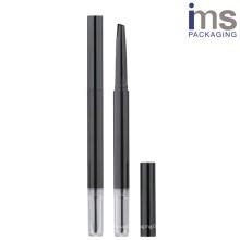 Round Plastic Automatic Pen Case