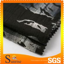 Spandex Yarn-Dyed Champray Baumwollstoff (Pigment Printing) (SRSCSP-298)