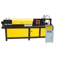 Barre d'acier hydraulique redressant et découpant la machine