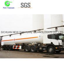 Semi-remorque à conteneurs liquides de 40 pieds à GNL