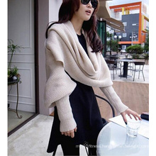 Women Warm Scarf with Sleeves (50249)