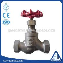 Запорный клапан с резьбовым соединением из нержавеющей стали 316