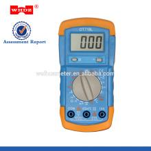 baixo preço digital multímetro DT718L com temperatura Backligt Battery Tester