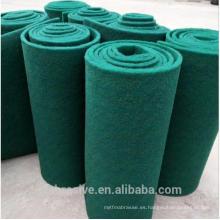 Alfombrilla abrasiva de carburo de silicio de color verde
