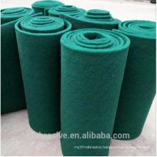 Green color Silicon carbide abrasive scouring pad