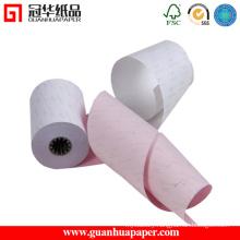 75mm*60mm NCR Carbonless Paper Rolls