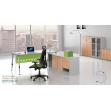 Modern Office Manager Executive Desk with Steel Frame (HF-BSA05)