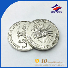 Hot Selling Cheap silver coin wholesale blank silver coin