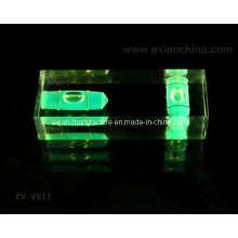 Bolha de nível de bloco acrílico de 2 eixos (EV-V911)