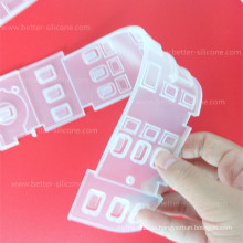 Cubierta de teclado transparente a prueba de polvo del silicón