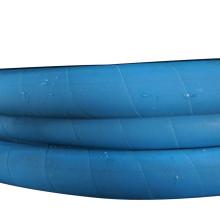 Tubulação hidráulica sintética resistente ao óleo de borracha flexível DIN EN 853 1SN / 2SN