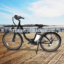 """2017 moda 26 """"bicicleta elétrica da bicicleta do poder verde da bicicleta 36V e bicicleta com CE"""