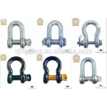The high quality Forging Hot Galvanizing Steel Shackle