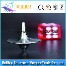 China fábrica de fornecimento customzied popular brinquedo peças metal spinning top brinquedo