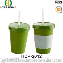 2016 innovadora taza de café de fibra de bambú biodegradable (HDP-2012)