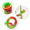"""Waxmaid 8.5"""" Horn Silicone Glass Water Pipe"""