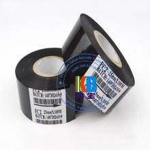 10pcs / lot Ruban de tampon chaud noir FC2 25 mm x 100 m pour machine d'imprimante Coder