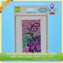 hot sell colorful & fasten self adhesive sticker