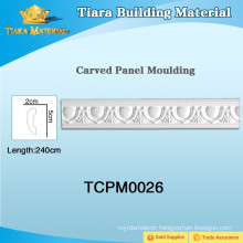 Manufacturer Classic Polyurethane (PU) wall moulding for Interior Decoration