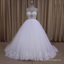 Сексуальная Бисером Милая Бальное Платье Свадебное Платье 2016
