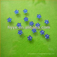 12 мм плоской задней декоративный цветок