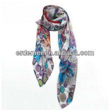 OEM printed silk scarf manufacturing