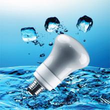 Luz de ahorro de energía R63 CFL con CE (BNF R63-A)