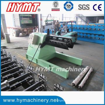 6Ton Decoiler hidráulico para o rolo que dá forma à máquina