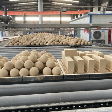 50-80mm Aluminiumoxid Keramik Media Ball
