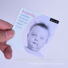 promotional tin fridge magnet
