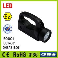 Lumière portative anti-déflagrante de torche de la batterie LED de batterie rechargeable de Chine