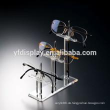 Klarer Acrylboden-stehender Brillen-Sonnenbrillegläser-Ausstellungsstand-Gestell-Halter