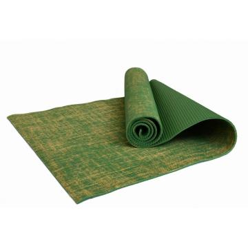 Tapis de yoga en jute naturel