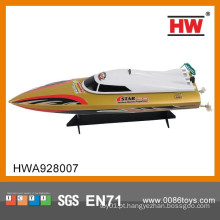 2015 Design novo! ABS Material 4 CH Rádio de alta velocidade RC Boat Trailers