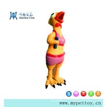 Brinquedo para cachorro com frango em látex de alta qualidade