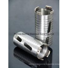 Stahlbeton-Trocken-Diamant-Kernbits zum Bohren von Beton