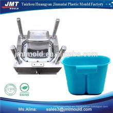 diseño de molde de cesta de pescado plástico de inyección